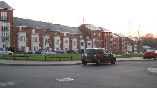 New housing, Highcroft