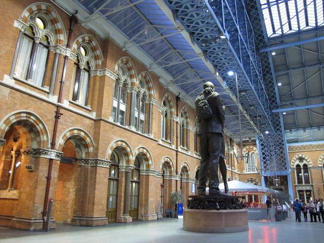St. Pancras Station, southern end
