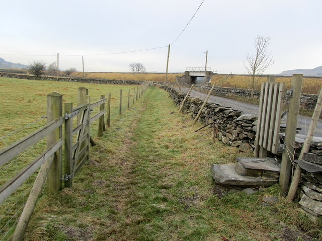 Ribble Way North of Helwith Bridge