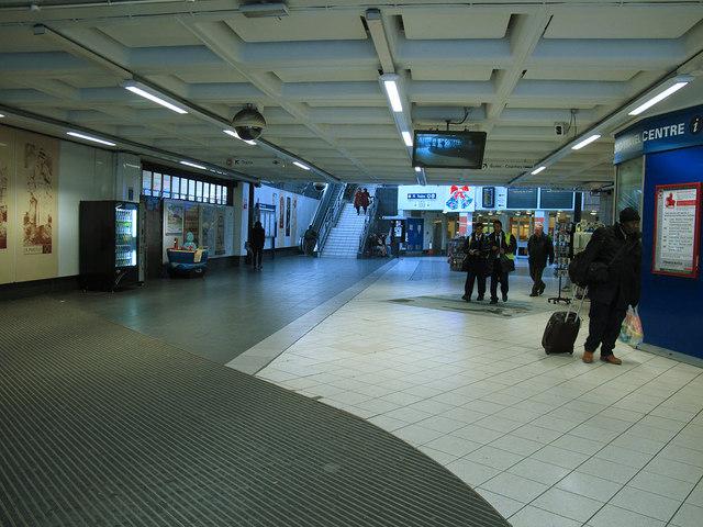 Inside Bradford Interchange