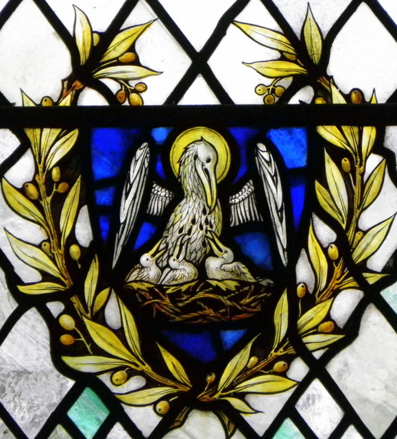 The Pelican-in-her-Piety, St Mary's Church