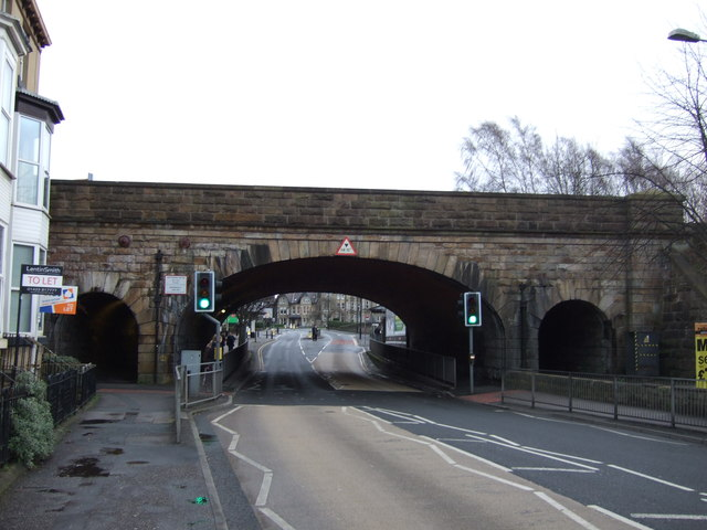 Railway bridge over Bower Road