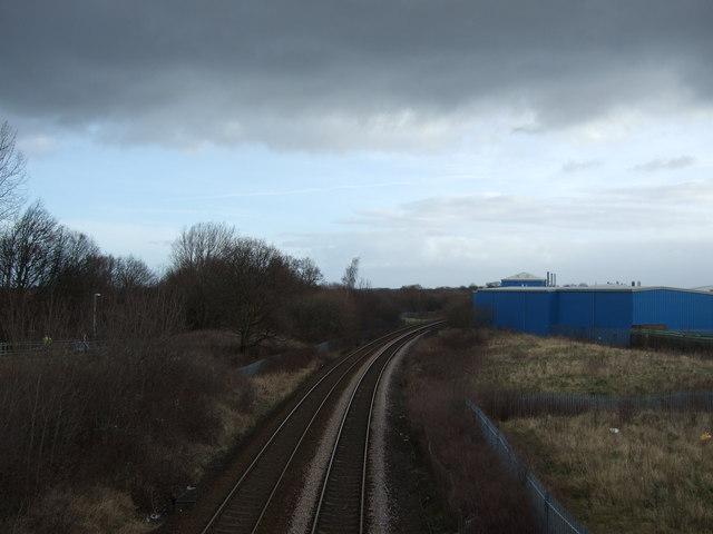 Railway towards Knaresborough