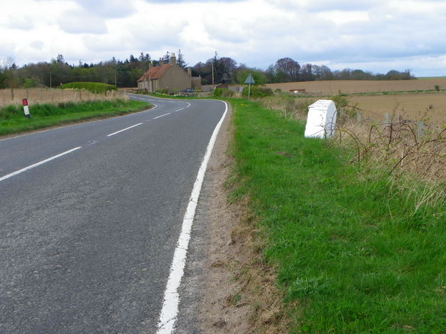 Milestone near Boarhills