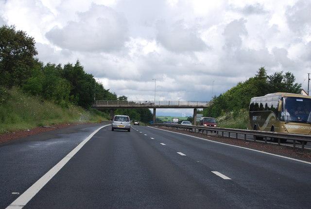 B7018 bridge over the M74