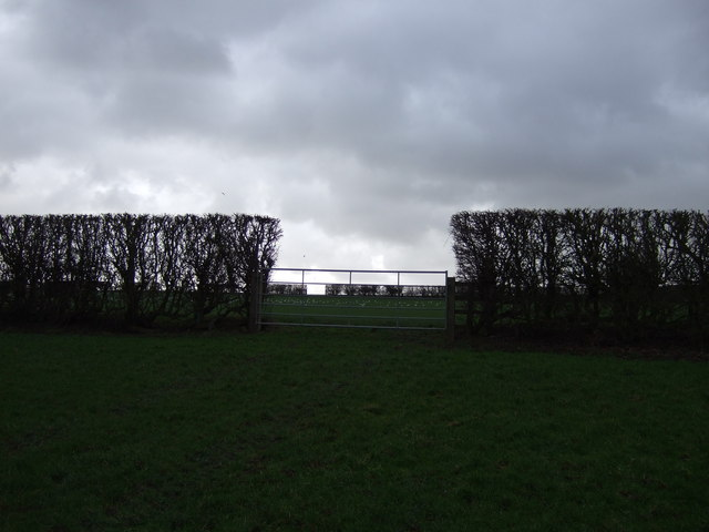 Field entrance, Crag Hill