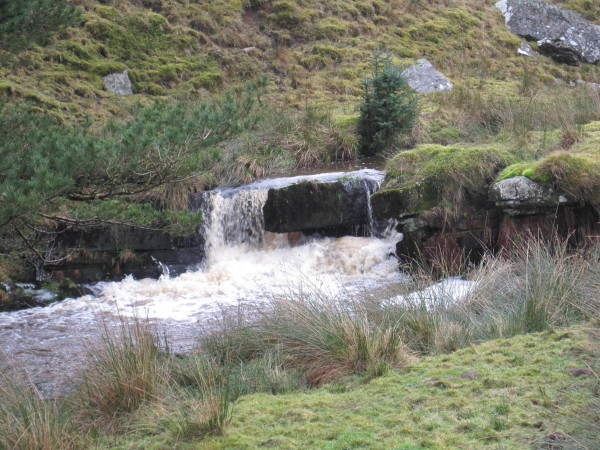 Small Waterfall, Middle Burn, Stonehaugh