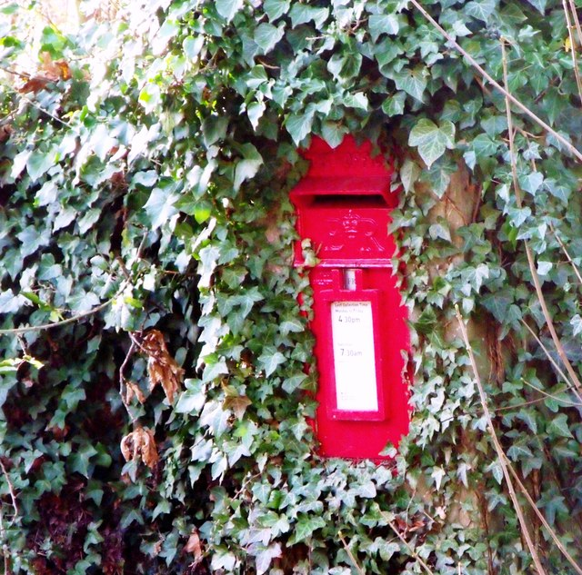 Postbox, Church Lane, Albourne