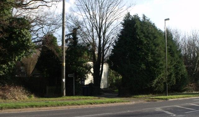 Public footpath, Albourne