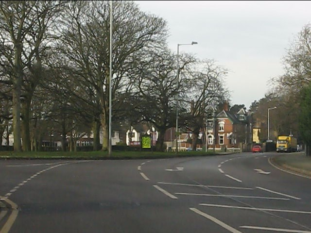 A41 at Woods Road