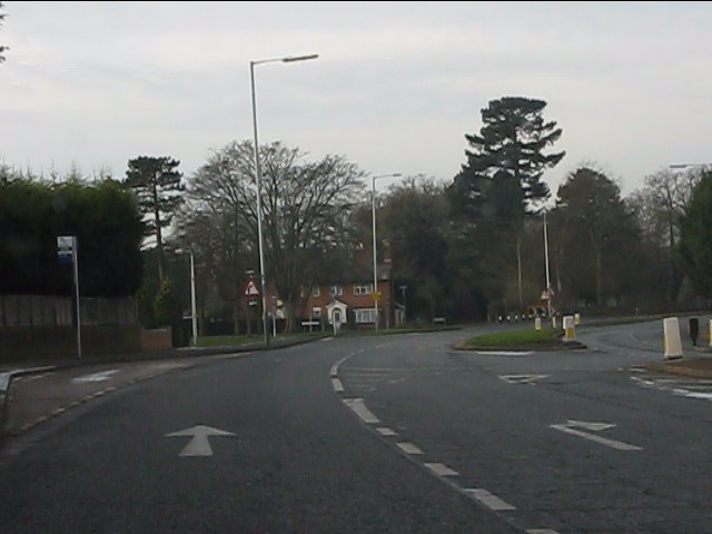 Dual carriageway on Wergs Road