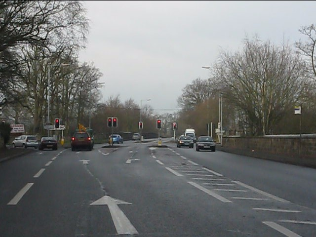 A41 - Wrottesley Park traffic lights
