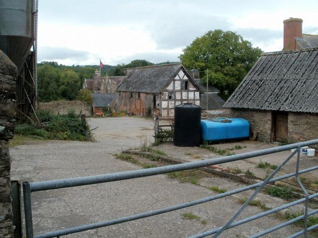Pontrilas Court Farm buildings