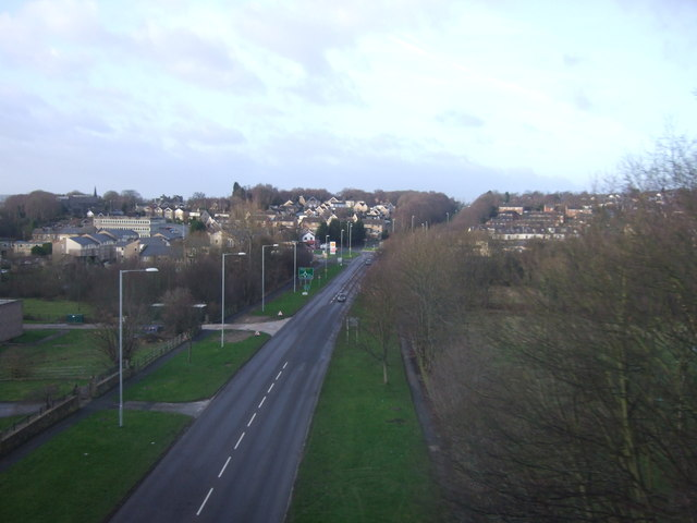 Leeds Ring Road (A6120) heading west
