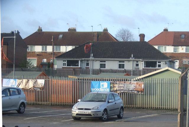 Car park, Horsforth Station