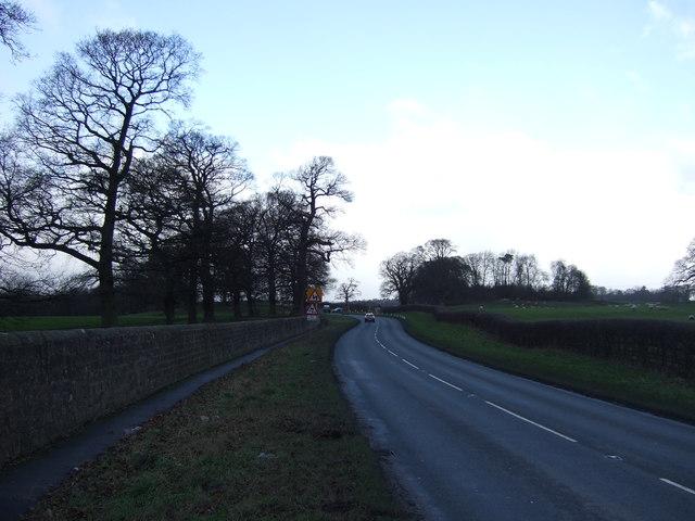 B6165 towards Pateley Bridge