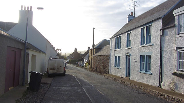 High Street, Town Yetholm