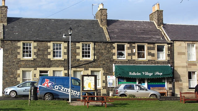 Village shop, Town Yetholm