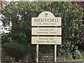 SS4527 : Bideford town sign by Stacey Harris