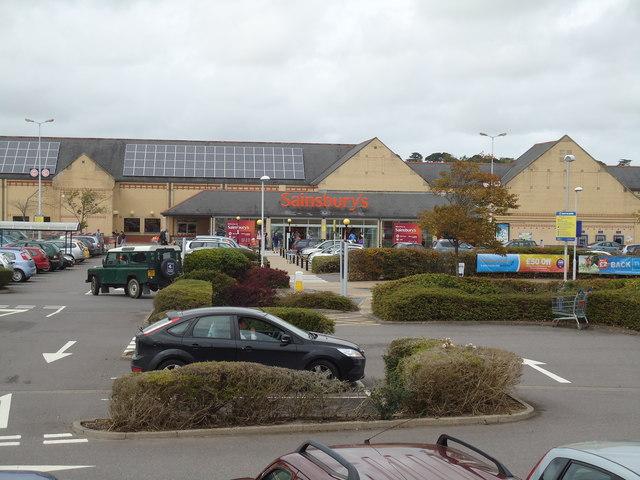 Sainsbury's supermarket, Roundswell, Barnstaple
