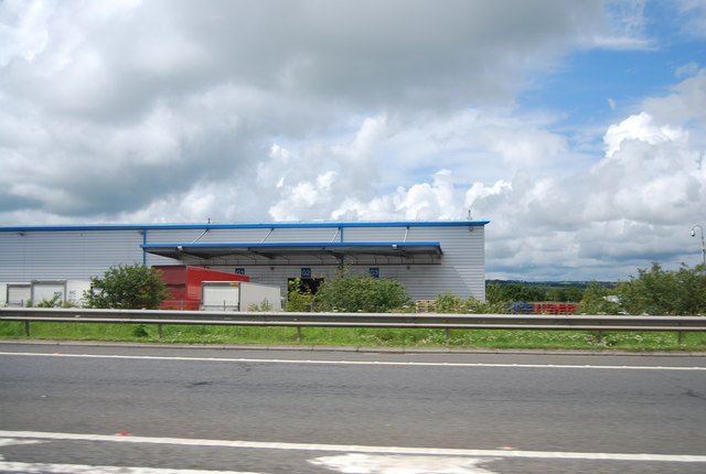 New distribution centre at Junction 8, M74