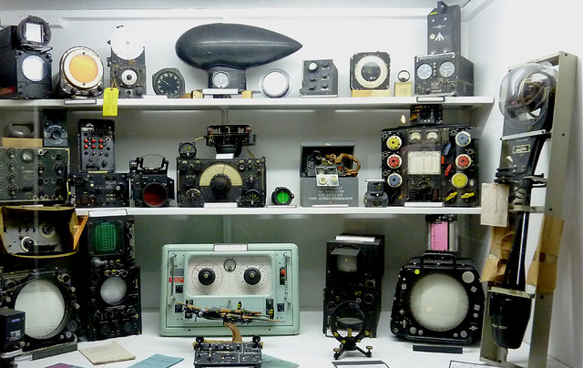 Equipment display at Hack Green Secret Nuclear Bunker