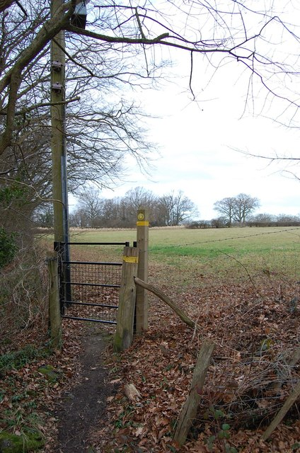 Footpath Entrance off Norton's Lane