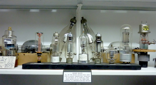 Valves display at Hack Green Nuclear Bunker, Cheshire