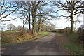TQ8739 : Footpath and drive to Wagstaff Farm by Julian P Guffogg