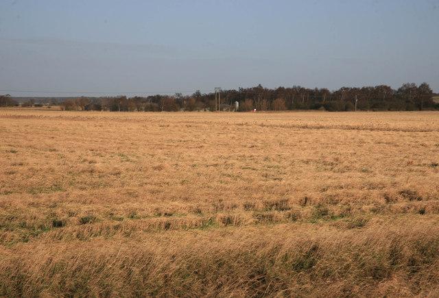 Blyton Carr looking towards Ash Farm