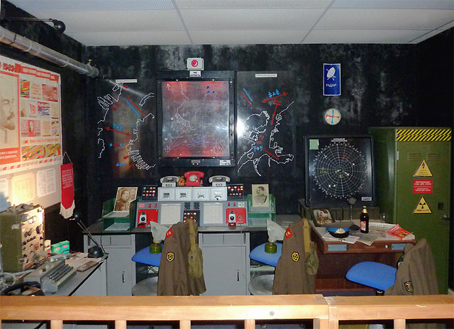 Soviet Nuclear Missile Control Room ...  in Cheshire
