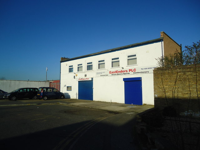 Cash and carry warehouse, Rigg Approach, London E10
