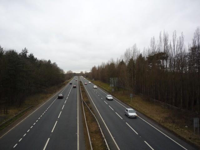 A64 from Naburn Lane