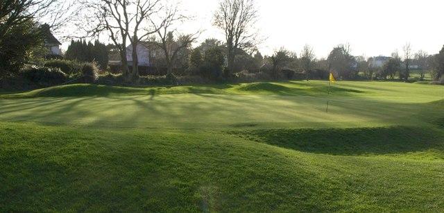 Green, Churston Golf Course