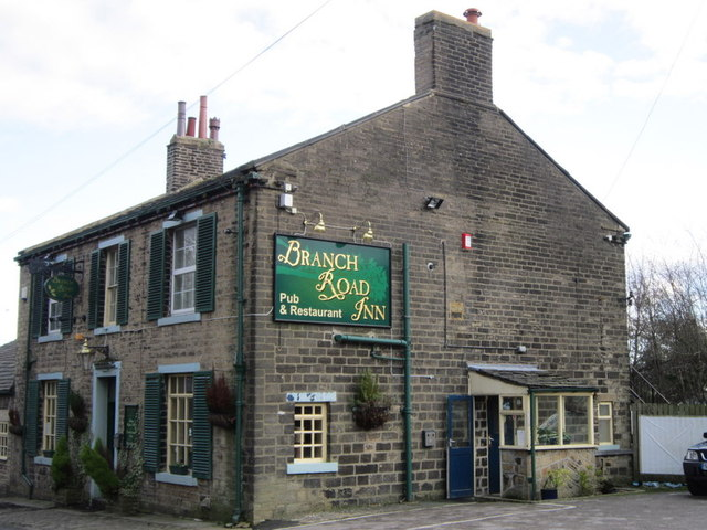 The Branch Road Inn on Saddleworth Road