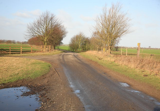 Carr Lane nr Bunker Hills farm