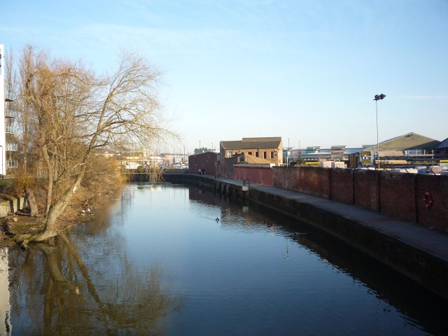 River Foss at Navigation Wharf