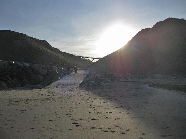 Upgang Beach