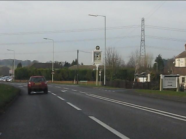 A41 at Oaken