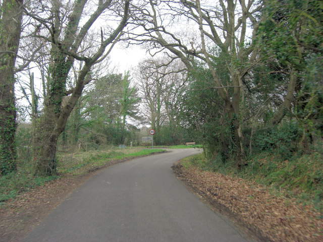 Junction of Maiden Lane and Platoff Road