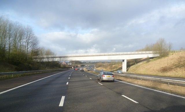 Bridge over the M61 - Chorley