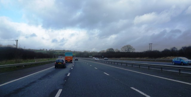 The M61 Motorway