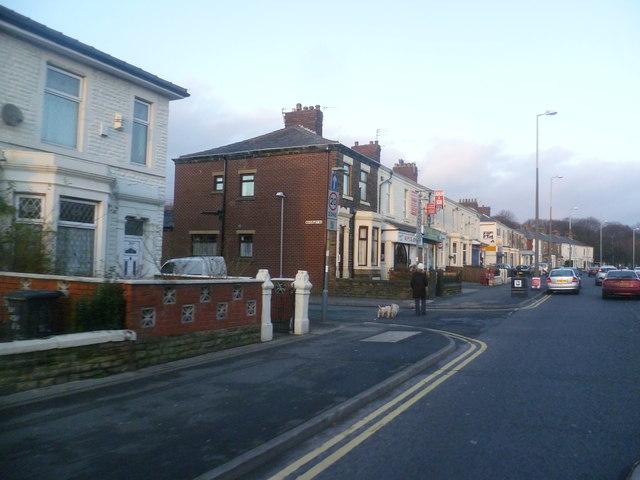 Houses on New Hall Lane - Preston