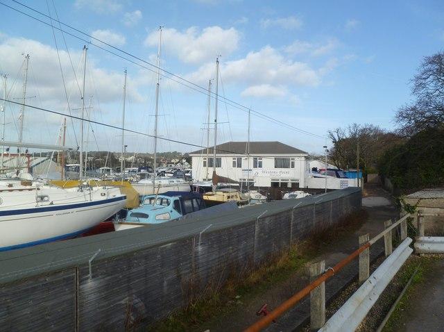 Parkstone, boatyard