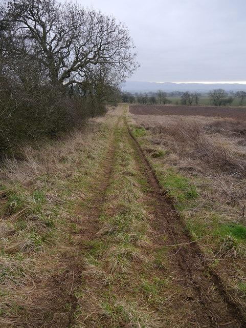 RAF Charterhall - WAAF Site No 1 - Access Road