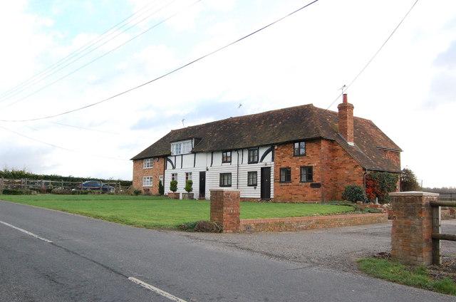 House near Monk's Hill Farm, Smarden road