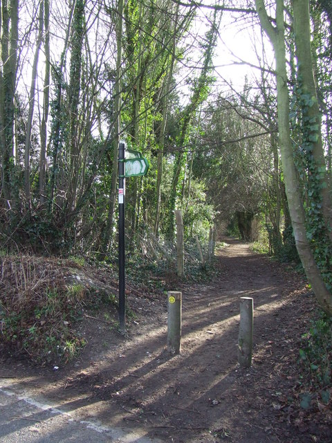Darent Valley Path, Shoreham