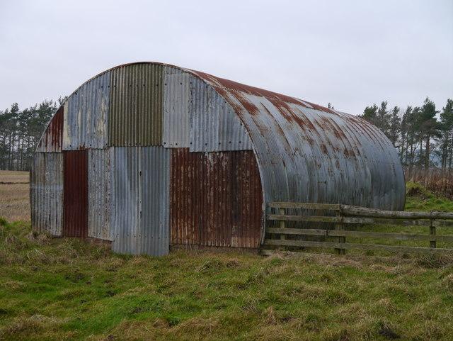 RAF Charterhall - Dispersed Site No 8 - Airmens' Quarters (South Side)