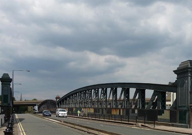 Westbourne Bridge, Westbourne Terrace