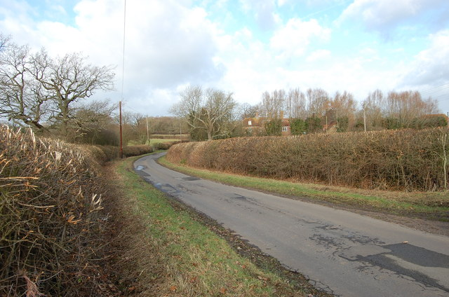 Lane towards River Hall